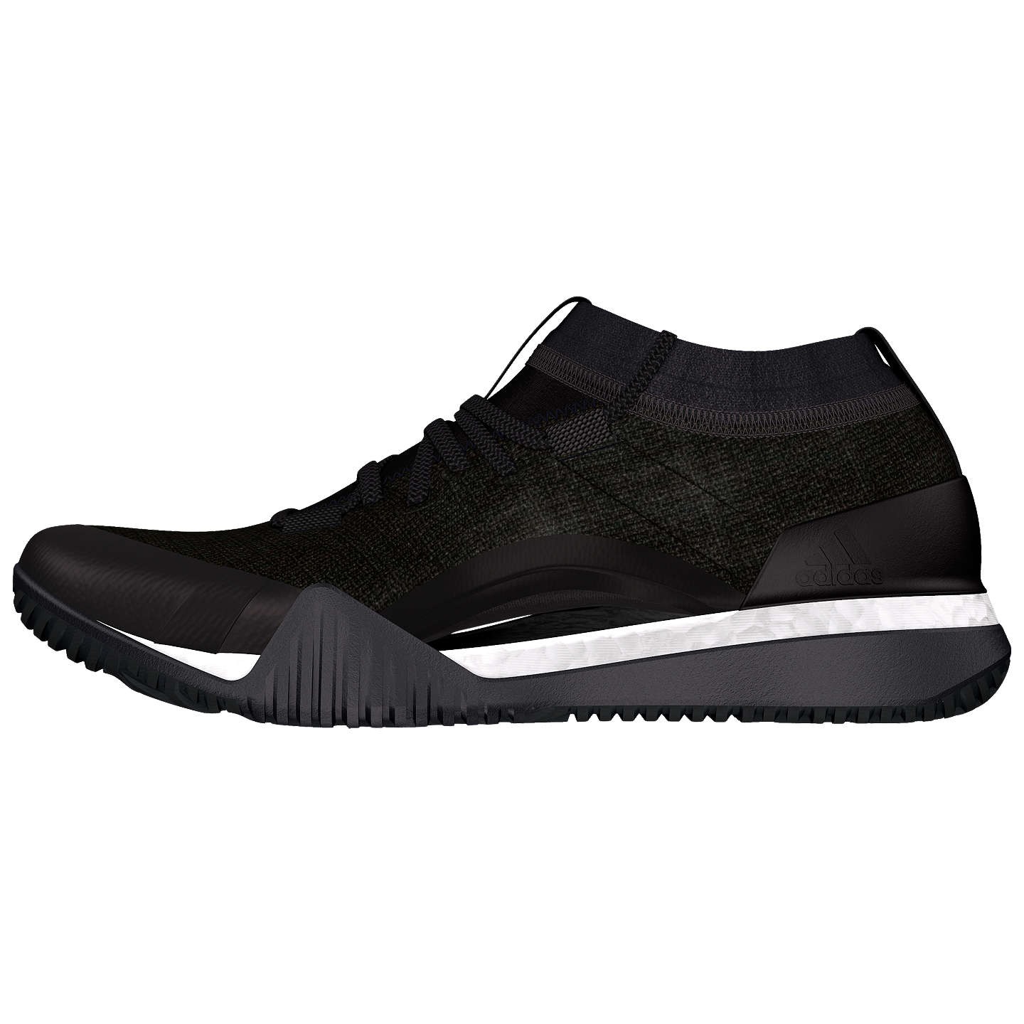 Buyadidas Pure Boost X TR3 Training Shoes, Black, 4 Online at johnlewis.com  ...