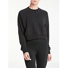 Buy Nike Training Top, Black Online at johnlewis.com