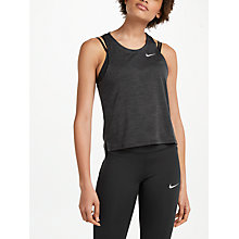 Buy Nike Dry Medalist Training Tank Top, Black/Anthracite Online at johnlewis.com