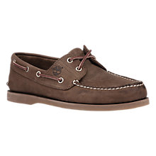 Buy Timberland Classic Boat Shoes, Brown Online at johnlewis.com