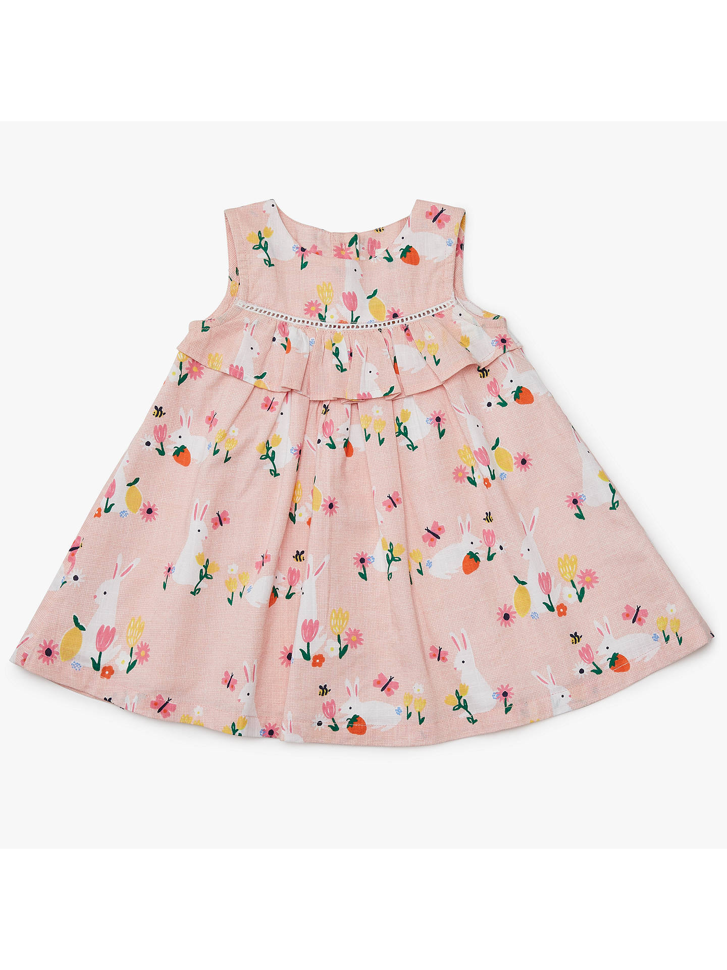 BuyJohn Lewis   Partners Baby Easter Bunny Frill Dress f6d711891b38