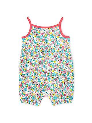 John Lewis   Partners Baby Floral Romper 45fd2a6ecc69