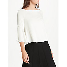 Buy Max Studio Bell Sleeve Jersey Top Online at johnlewis.com
