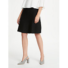 Buy Max Studio Knitted Skirt, Black Online at johnlewis.com