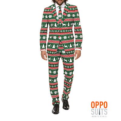 OppoSuits Festive Green Costume, Men's