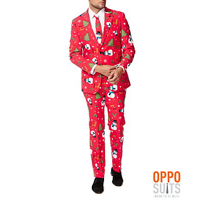 OppoSuits Christmaster Costume, Men's