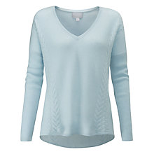 Buy Pure Collection Cable Cashmere Jumper Online at johnlewis.com