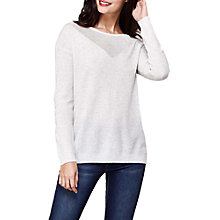 Buy Yumi Criss Cross Jumper, Grey Online at johnlewis.com