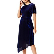Buy Coast Jemma Sparkle Jersey Dress, Cobalt Blue Online at johnlewis.com