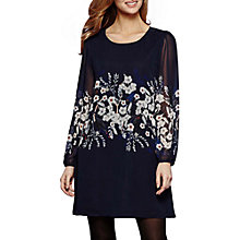 Buy Yumi Botanical Print Dress, Dark Navy Online at johnlewis.com