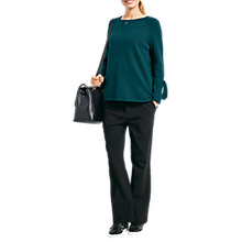 Buy hush Tie Sleeve Jumper Online at johnlewis.com