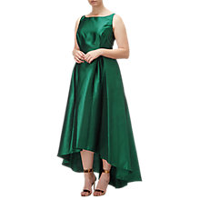 Buy Adrianna Papell Arcadia High-Low Hem Ball Gown, Dark Forest Online at johnlewis.com