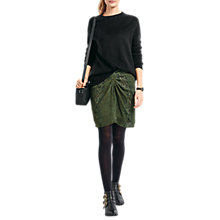Buy hush Florence Skirt, Green Snake Online at johnlewis.com