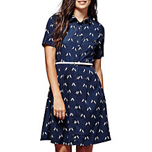 Buy Yumi Unicorn Print Shirt Dress, Navy Online at johnlewis.com