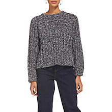 Buy Whistles Tie Sleeve Jumper, Multi Online at johnlewis.com
