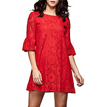 Buy Yumi Flute Sleeve Lace Shift Dress Online at johnlewis.com