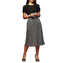 Buy Yumi Shimmer Pleated Skirt Online at johnlewis.com