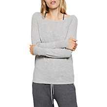 Buy Hygge by Mint Velvet Pure Cashmere Tie Back Lounge Jumper Online at johnlewis.com
