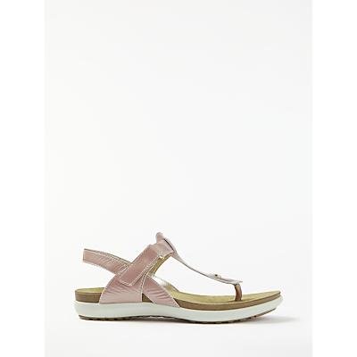 John Lewis Designed for Comfort Luella Toe Post Sandals, Pink
