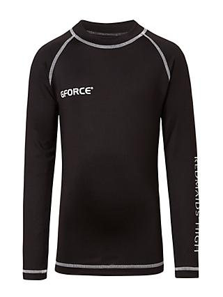 Redmaids' High School Baselayer Top, Black