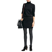Buy hush Tara Polo Neck Dress Online at johnlewis.com