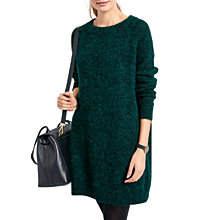 Buy hush Jada Knit Tunic Jumper, Ivy Online at johnlewis.com