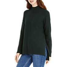 Buy Oasis Funnel Neck Knit Jumper Online at johnlewis.com