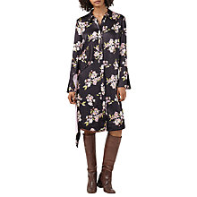 Buy Finery George Printed Shirt Dress, Multi Online at johnlewis.com