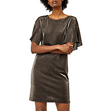 Buy Warehouse Metallic Tunic Dress Online at johnlewis.com