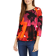 Buy Phase Eight Fleur Floral Blouson Top, Multi Online at johnlewis.com
