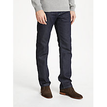 Buy Diesel Waykee Straight Jeans, Blue 084HN Online at johnlewis.com