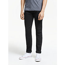 Buy Diesel Sleenker Skinny Jeans, Black 0886Z Online at johnlewis.com