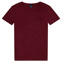Buy Scotch & Soda Pocket T-Shirt, Dried Pepper Online at johnlewis.com