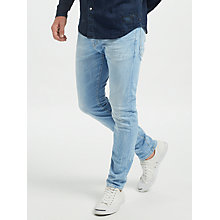 Buy Scotch & Soda Ralston Regular Slim Fit Jeans, Light Wash Online at johnlewis.com