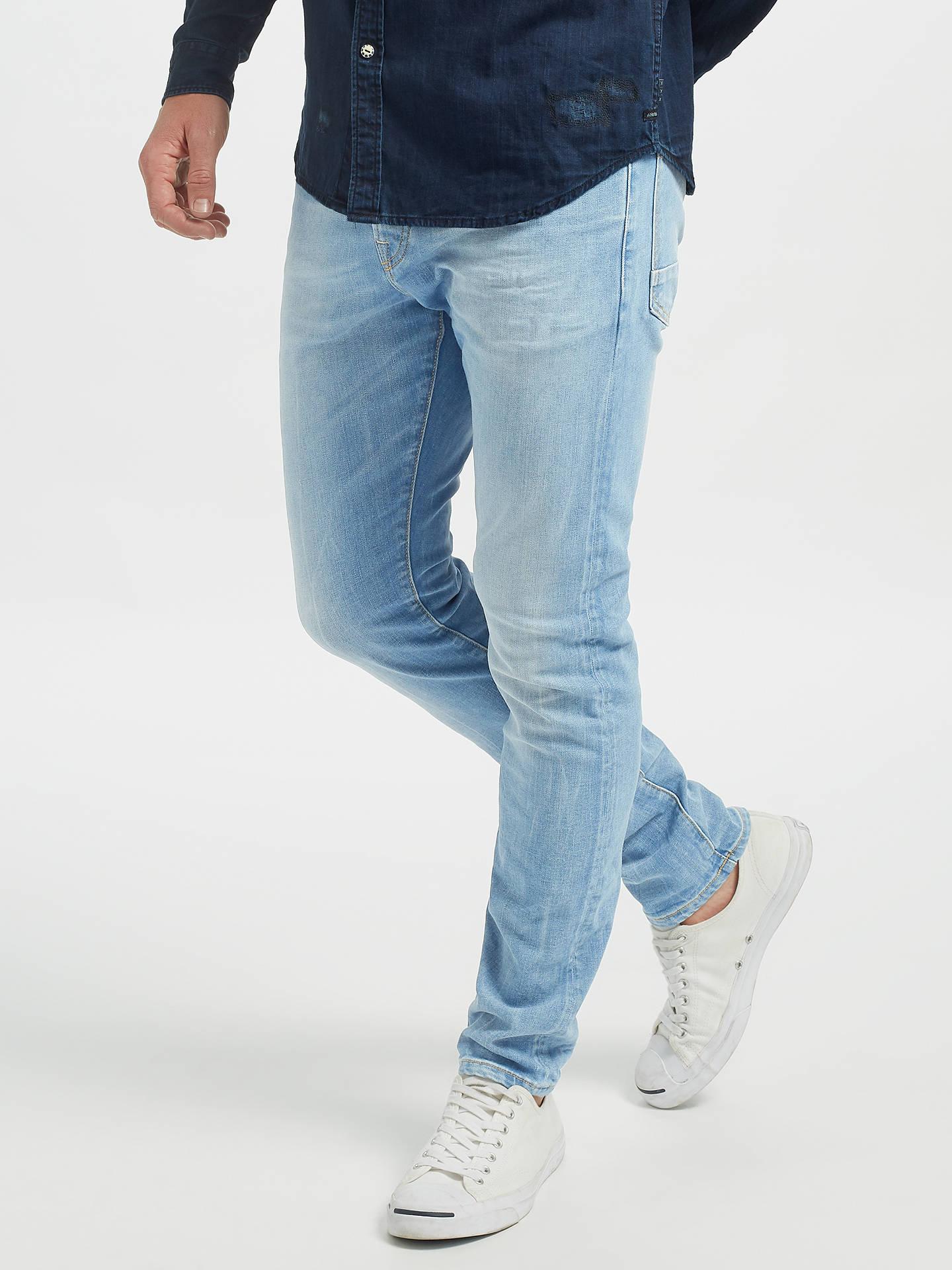 Scotch & Soda Ralston Regular Slim Fit Jeans, Light Wash at John Lewis &  Partners