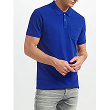 Buy Scotch & Soda Garment Dyed Cotton Polo Shirt Online at johnlewis.com