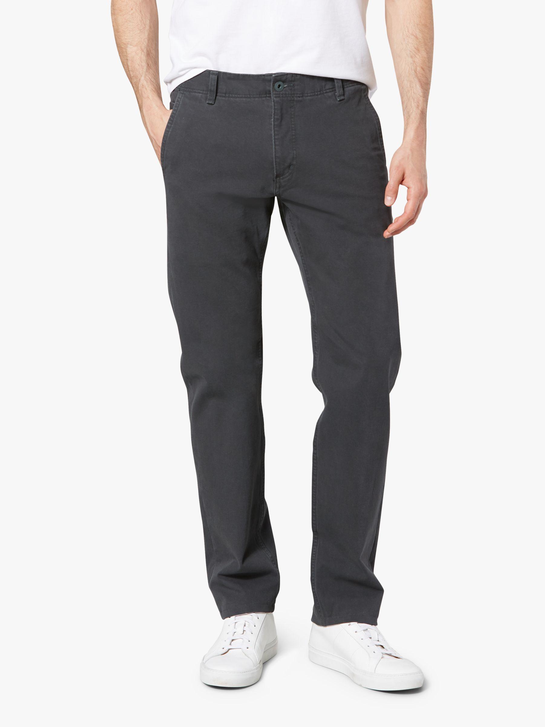 Dockers Dockers Alpha Khaki Smart 360 Flex Slim Tapered Trousers