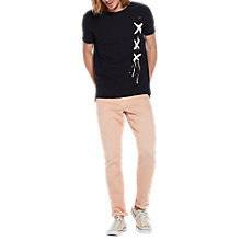 Buy Scotch & Soda 59 Signature T-Shirt, Midnight Online at johnlewis.com