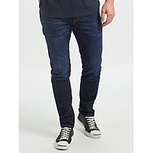 Buy Scotch & Soda Ralston Regular Slim Fit Jeans, Dark Wash Online at johnlewis.com