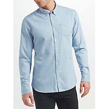 Buy Scotch & Soda Printed Shirt, Blue/White Online at johnlewis.com