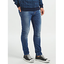 Buy Scotch & Soda Stretch Skinny Jeans, Dutch Blauw Online at johnlewis.com