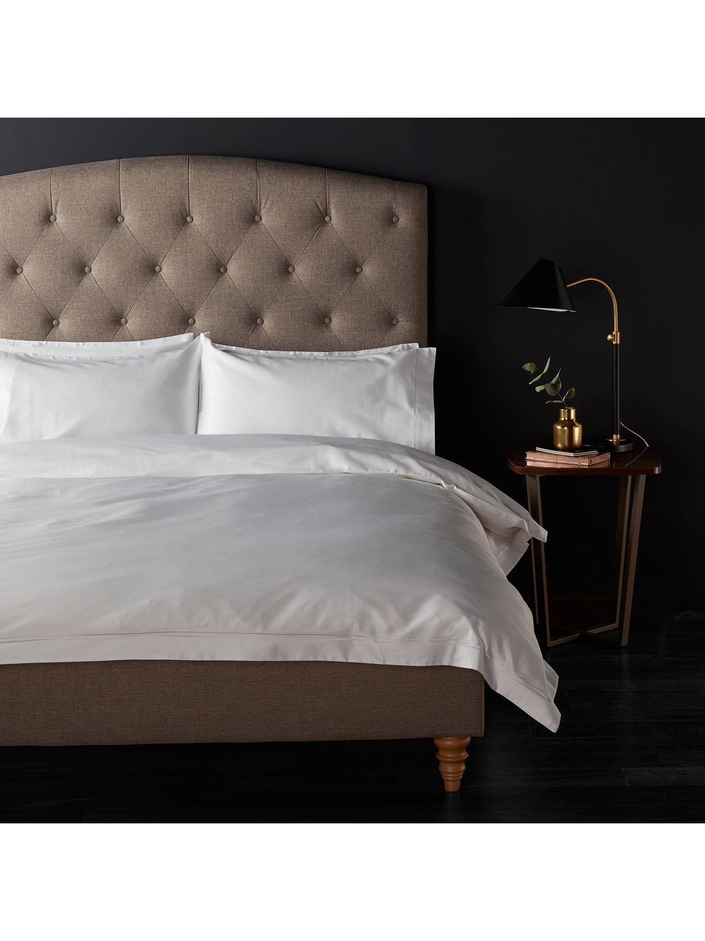 BuyJohn Lewis U0026 Partners The Ultimate Collection Supima Cotton And Mulberry  Silk Double Duvet Cover, ...