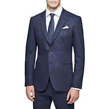 Buy Reiss Reynolds Donegal Suit Jacket, Airforce Blue Online at johnlewis.com