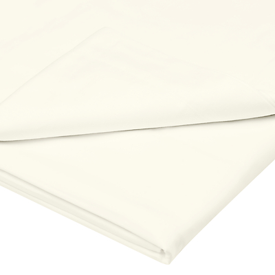 John Lewis & Partners Soft & Silky Egyptian Cotton 800 Thread Count Flat Sheet