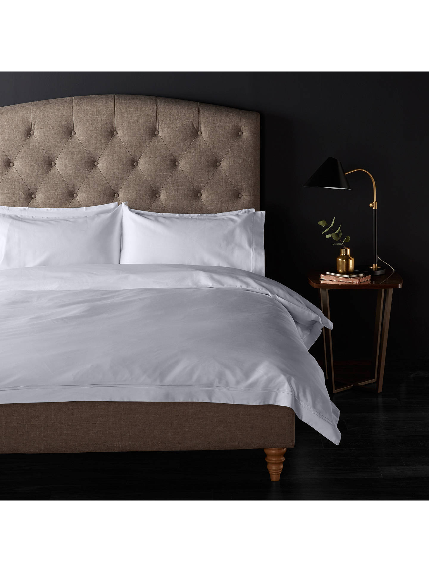 John Lewis Partners The Ultimate Collection 1000 Thread Count Egyptian Cotton Oxford Pillowcase