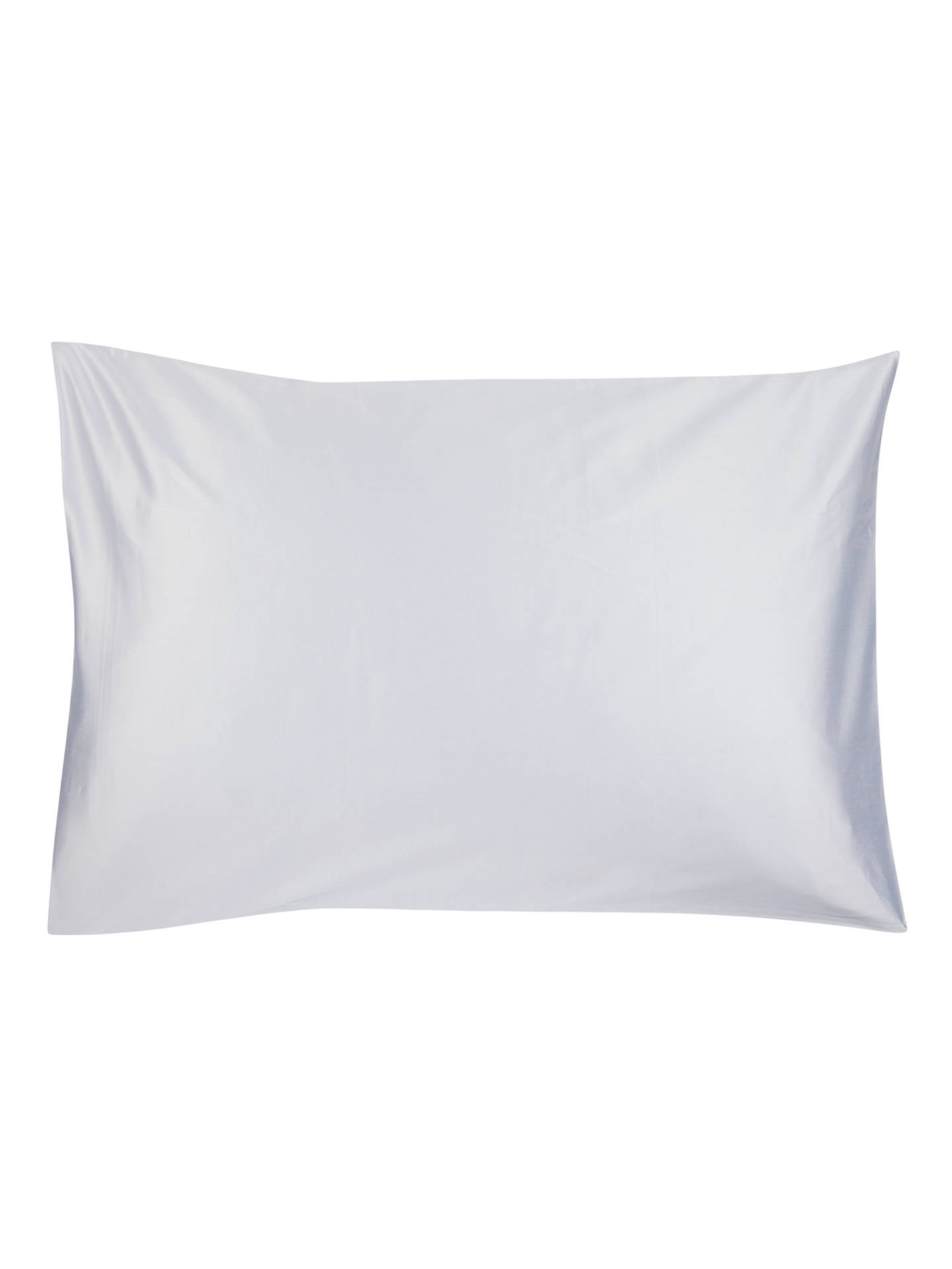BuyJohn Lewis & Partners The Ultimate Collection 1000 Thread Count Egyptian Cotton Standard Pillowcase, Pale Blue Online at johnlewis.com