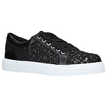 Buy Miss KG Louie Lace Up Trainers, Black Online at johnlewis.com