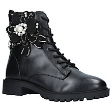 Buy Miss KG Seren Embellished Ankle Boots, Black Online at johnlewis.com