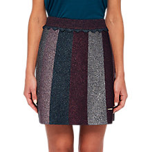 Buy Ted Baker Colour By Numbers Knitted Mini Skirt, Multi Online at johnlewis.com