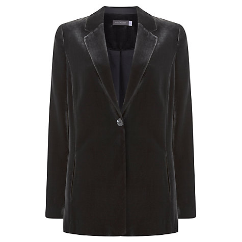 Buy Mint Velvet Velvet Blazer Online at johnlewis.com